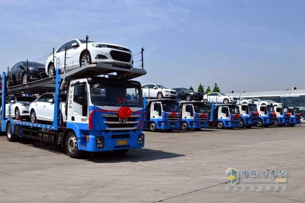 关于轿运车与中置轴轿运车的国家新规