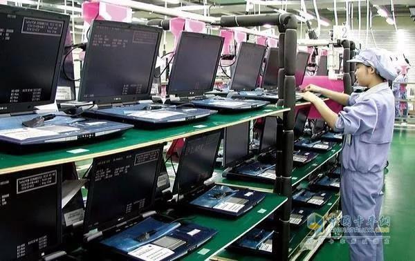 重庆笔电产量占世界1/3,庆铃战斗物流一线
