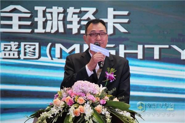 浙江明大汽车贸易有限公司董事长陈明产