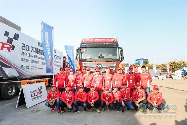 参加欧曼EST超级卡车比赛的参赛选手