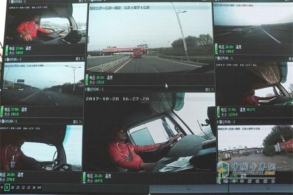 车联网系统对驾驶员的驾驶行为实时监控