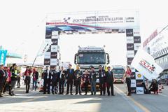 卡车公开赛走进齐鲁大地  为降本增效贡献欧曼方案