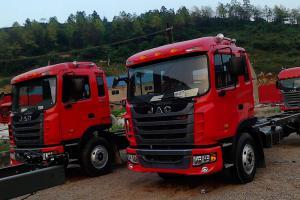 江淮格尔发 K5 280马力 6X2 9.6米厢式载货车