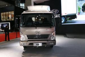 四川现代 盛图H1 129马力 4.2米单排厢式轻卡