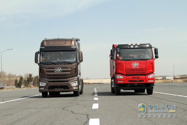 一汽解放无人驾驶智能卡车