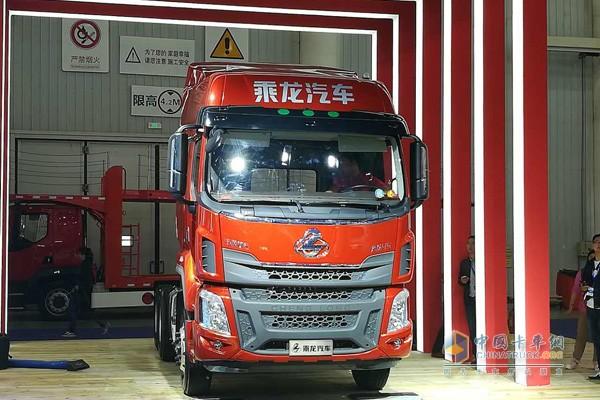 超级轻量化卡车乘龙H5自重仅7.5吨