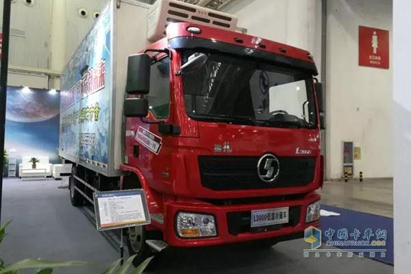 德龙L3000厢式低温冷藏运输车