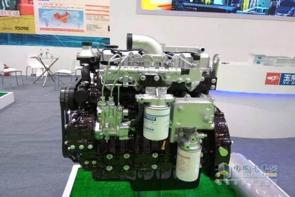 玉柴t4发动机亮相中国国际农业机械展览会