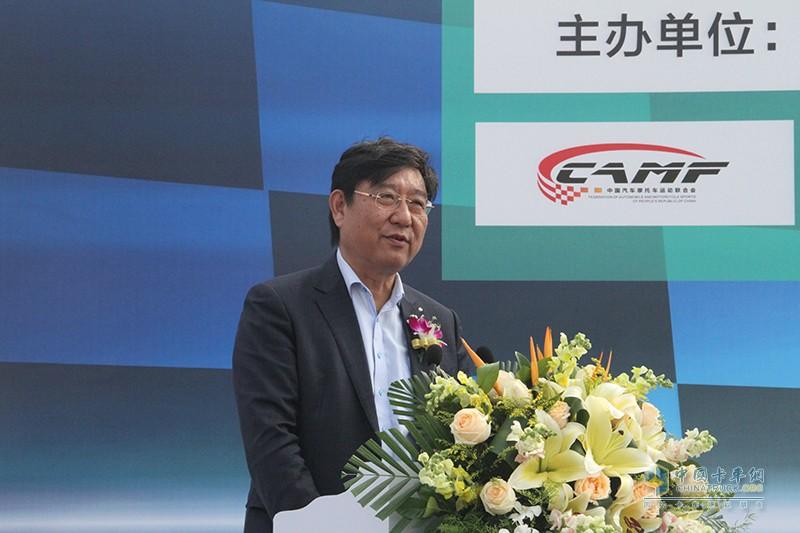 中国物流与采购联合会副会长蔡进先生讲话