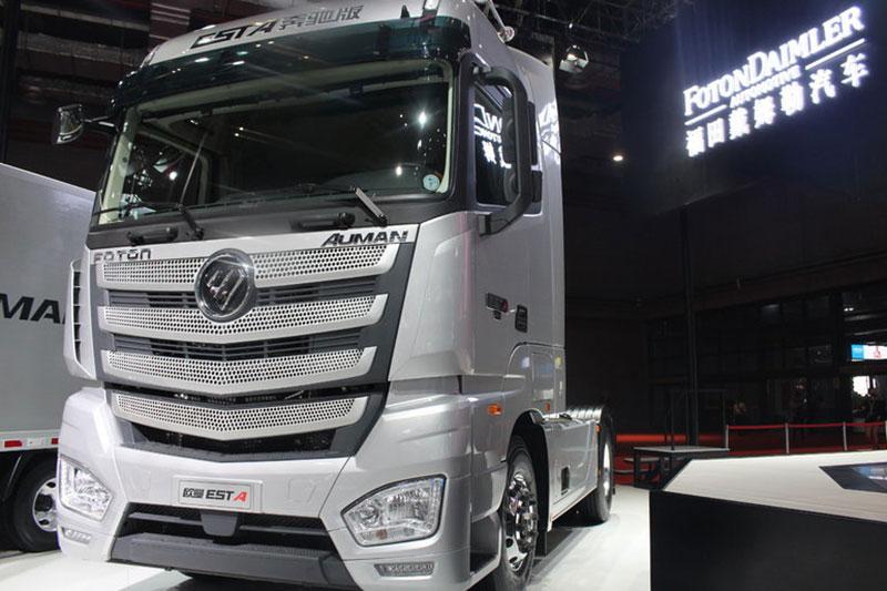 福田戴姆勒欧曼EST重卡 超级卡车 奔驰版 430马力 4X2牵引车