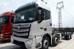 福田戴姆勒欧曼EST 9系重卡 460马力 8X4 9.6米厢式载货车(BJ5319XXY-AB)