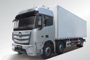 福田戴姆勒欧曼EST 6系重卡 280马力 6X2 9.5米厢式载货车(BJ5259XXY-AA)