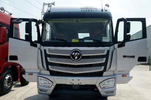 福田戴姆勒欧曼EST 6系重卡 400马力 8X4 9.6米畜禽载货车(BJ5319CCQ-AA)