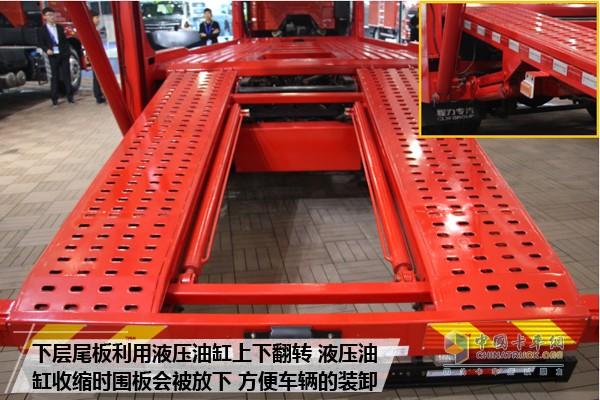 轿运实力新担当 解放J6L中置轴轿运车