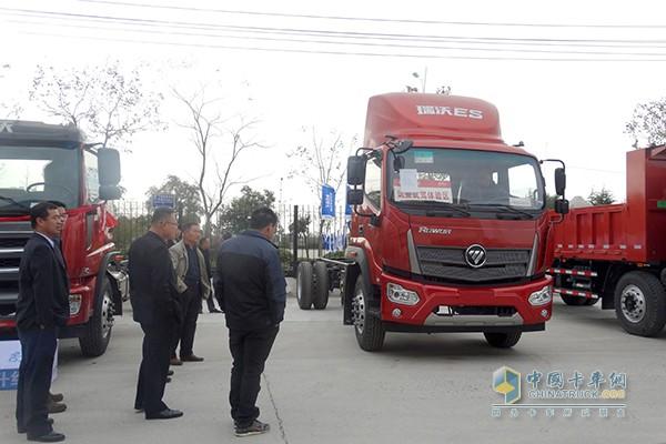 中国卡车网 卡车新闻 卡车 中卡新闻    福田汽车时代事业部李金明