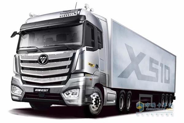 高效物流新生代卡车,欧曼est x510强势来袭!图片