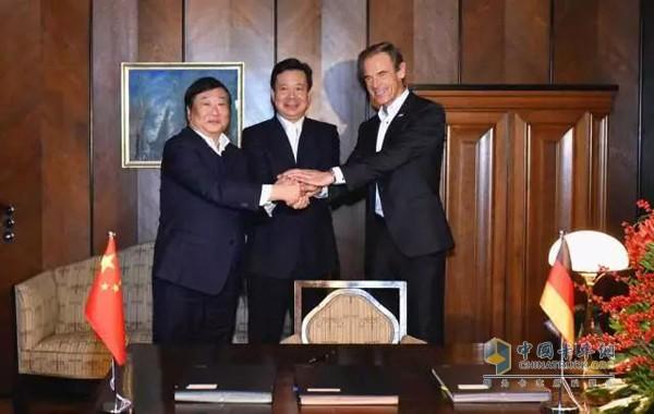 潍柴动力博世签署全面战略合作框架协议