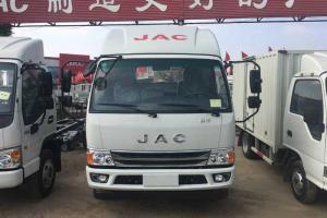江淮 新康铃H5 156马力 3.8米排半栏板轻卡(HFC1043P91K2C2V)
