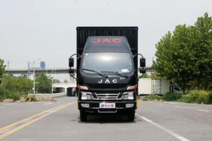江淮骏铃V3 快递版 109马力 3.8米排半厢式轻卡(HFC5041XXYP93K4C2V)