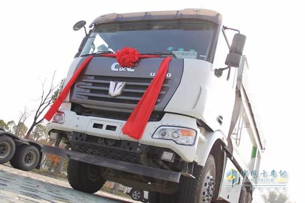 联合卡车U380渣土车