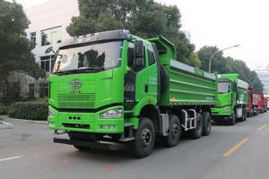 一汽解放 J6P重卡 350马力 6X4 5.6米渣土自卸车(CA3250P66K2L1T1AE5)