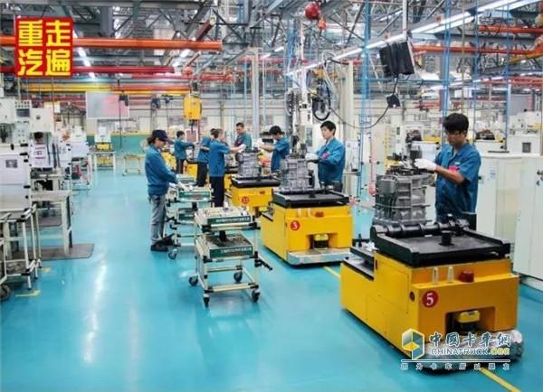 中国重汽变速器