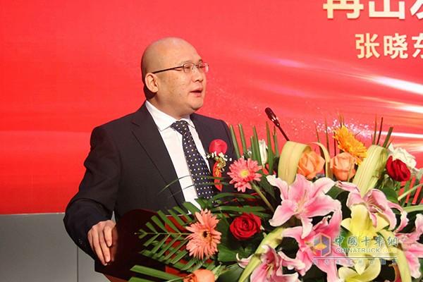 中国重汽销售部总经理张晓东