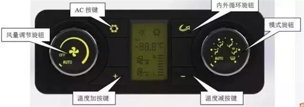 X3000独立暖风的暖控