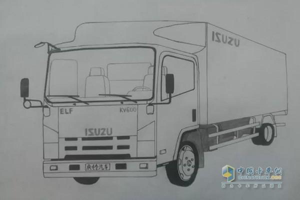 中国卡车网 卡车新闻 卡车 轻卡新闻    第一次见识庆铃五十铃 700p
