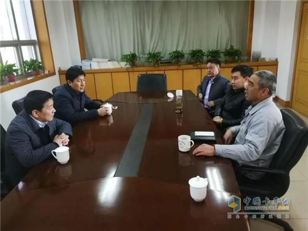 陈董事长与星马公司羊总座谈交流
