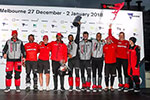 2017-18赛季沃尔沃环球帆船赛第三赛段东风队获亚军!