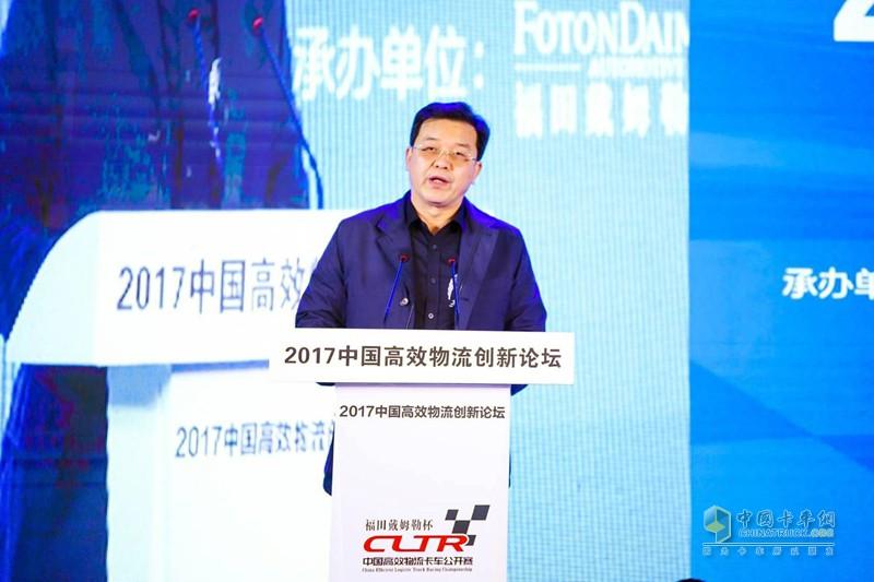 中国交通报社副社长庄长波先生致辞
