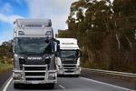 配双挂车重74吨 斯堪尼亚新车澳洲测试