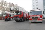 """火灾扑救再添""""利器"""" 三门峡购置三辆奔驰底盘消防车"""