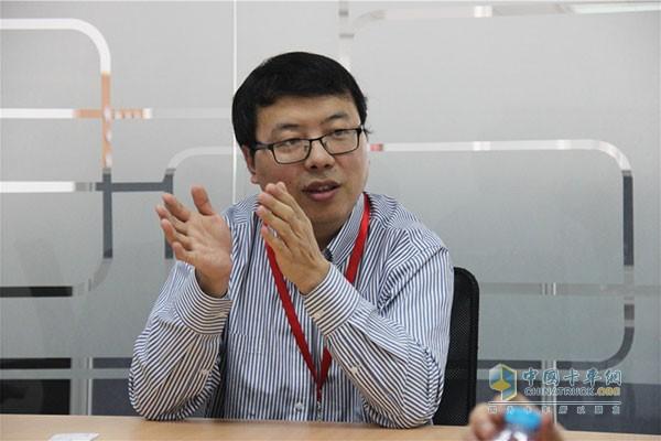 福田康明斯产品工程总监锁国涛
