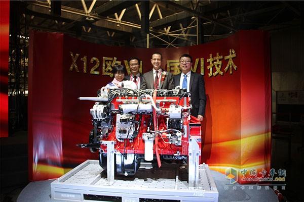 福田康明斯X12国六技术发动机