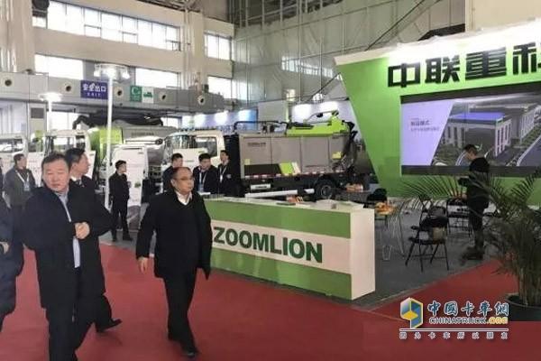 中联重科参加哈尔滨寒地博览会