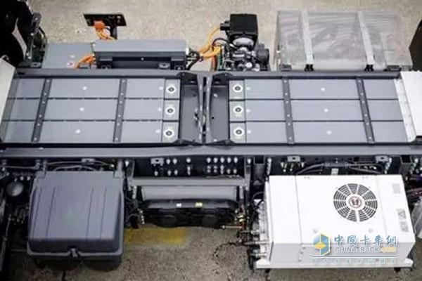 电动卡车锂电池组