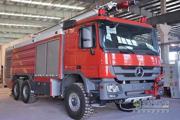 上海金盾多款消防车产品通过国家检测认证