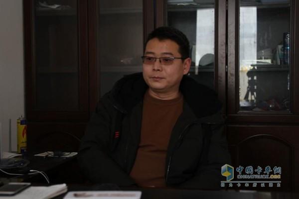 安徽阜阳林宝商贸副总经理张总