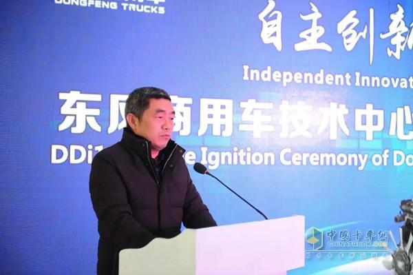 东风商用车有限公司技术中心DDi13项目总设计师陈功军