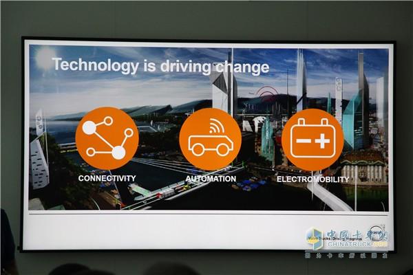 网联化、自动化、电动化将是未来三大核心技术领域
