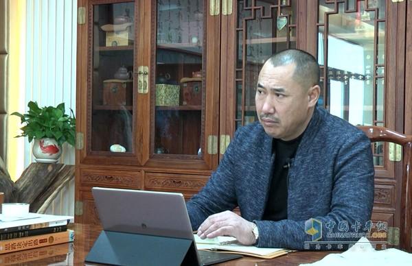 青岛泰瑞隆物流有限公司总经理李志祥