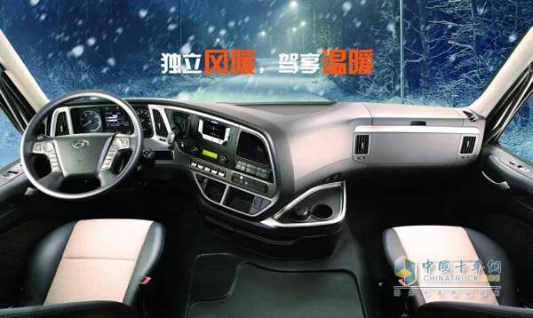 创虎寒区版温暖舒适的驾驶室