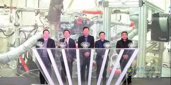 2018年2月1日,东风商用车DDi13发动机点火仪式现场