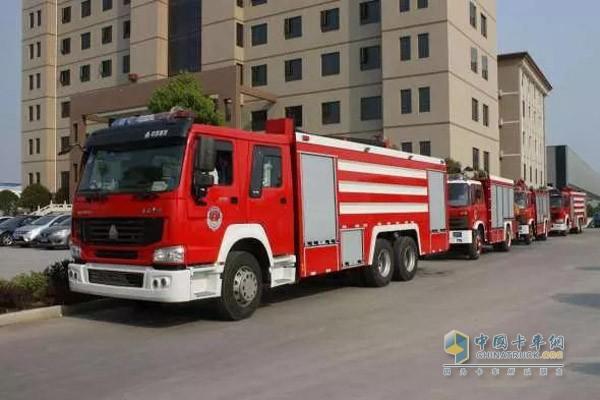 多地采购消防车