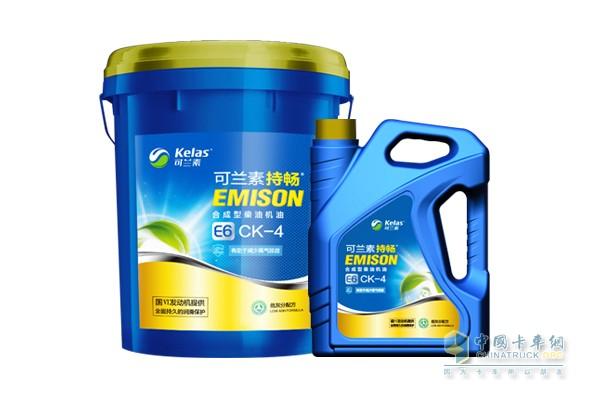 可兰素持畅E6 CK-4国六合成机油