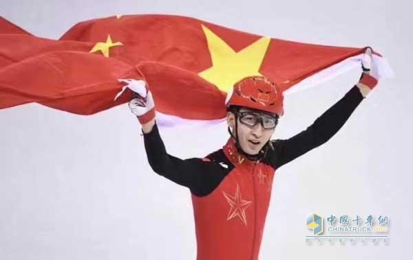 武大靖夺得短道速滑男子500米项目冠军