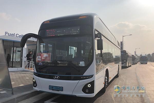 现代汽车氢燃料客车