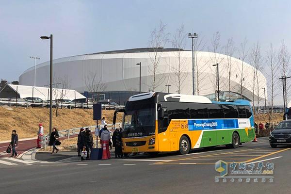现代汽车客车服务冬奥会
